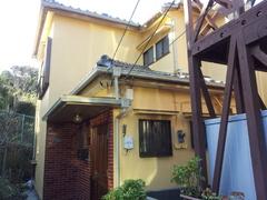 塗装完了 横須賀市光風台O邸