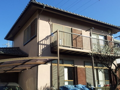 横須賀市K様邸塗装工事です。