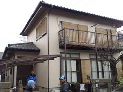 横須賀市光風台K様邸塗装工事完了