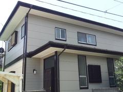 横須賀市ハイランドH邸塗装工事完了。