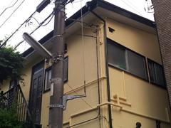 川崎市中原区上平間T様邸の外部塗装工事完了です。