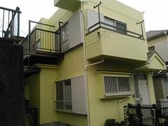 横浜市戸塚区Y様邸完成!シリコン樹脂塗料仕上げ。