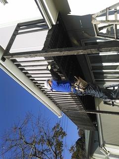 鎌倉市浄明寺R様邸ベランダ取り替え工事。