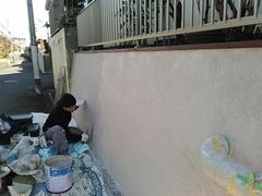 戸塚区上矢部F様邸 フェンス、塀工事。