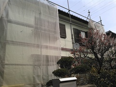 横須賀市光風台S様邸 外壁塗装工事。