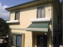 横須賀市浦賀O邸塗装完了。