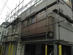 横須賀市上町I様邸塗装工事。