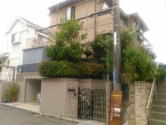 横須賀市光風台T様邸、塗装工事中
