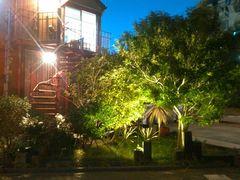 ガーデン照明工事。LED