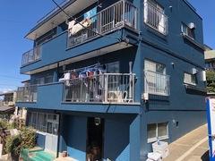 横浜市大岡ヒドロビル、外壁塗装完成!超低汚染リファイン仕上げ。