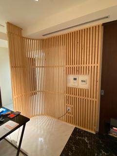 西新宿、書棚、間仕切り内装工事完成!