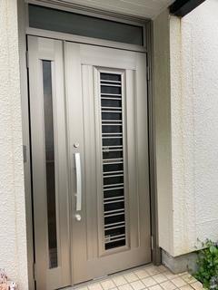 玄関ドア交換工事完了!
